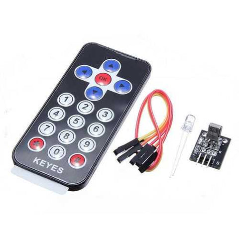 Infrared IR Receiver Module Wireless Remote Control Kit