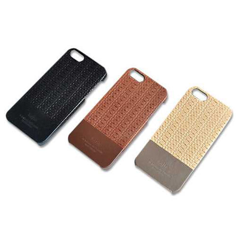 Casual Style Genuine Leather Protector Case Cover For iPhone 5 5S 5SE