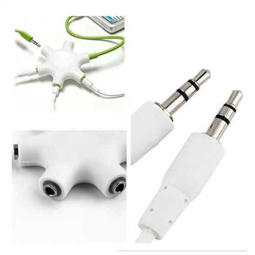 Headphone Audio Splitter Cable 3.5mm Audio Splitter Sound