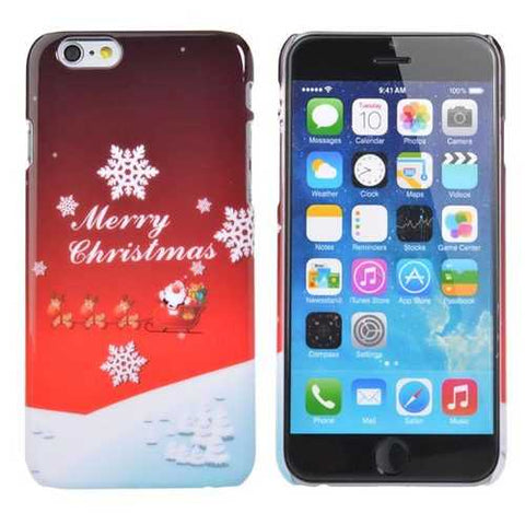 Christmas Gift Sweet Christmas Pattern Back Case Cover For iPhone 6