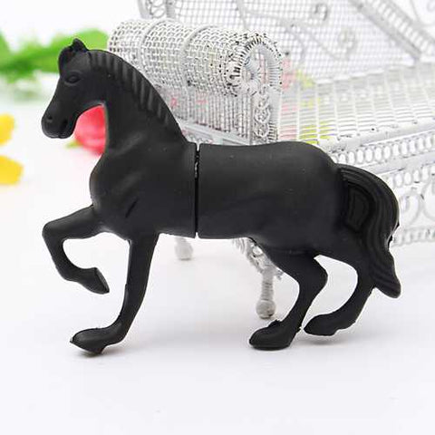 32GB USB 2.0 Fashion Horse Model Flash Drive Memory Stick U Disk