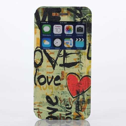 Love Pattern PC Hard Cover Case Protector For iPhone 6 Plus