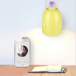 E27 LED Lamp Bluetooth 4.0 Music Audio Speaker Bulb APP Controller