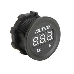 Car Solar Monitor DC Supply Voltage Display