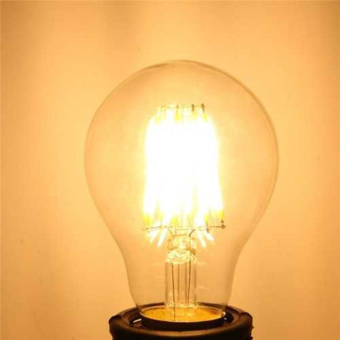 E27 LED 8W White/Warm White COB LED Filament Retro Edison LED Bulbs 85-265V
