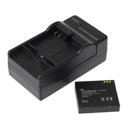 Rechargeable Battery Charger With Car Charger For Xiaomi Yi Action Camera US Plug
