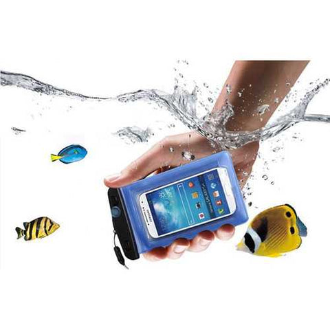 Universal 6 Inch Transparent Waterproof Arm Band Bag Under Water Pouch