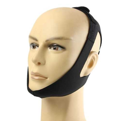 Anti Snoring Chin Strap Snore Stopper Sleep Belt Brace Device