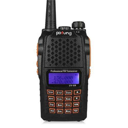 BaoFeng UV-6R Portable Walkie Talkie Two Way Radio 128CH UHF VHF Dual Band Handled Transceiver
