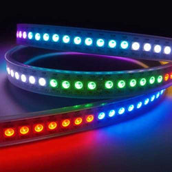 1M WS2812B 5050 RGB Non-Waterproof 60 LED Strip Light Dream Color Changing Individual Addressable DC 5V