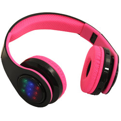 BT Headphones with LED flashing light