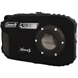 Coleman 20.0 MP/HD Waterproof Digital Camera-Black