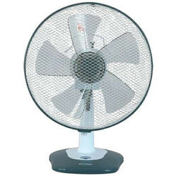 "Optimus 12"" Oscillating Table Fan with Soft Touch Switch"