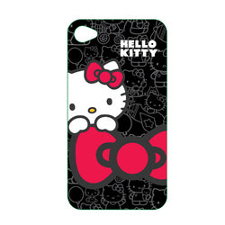 Hello Kitty Polycarbonate Wrap for iPhone 4
