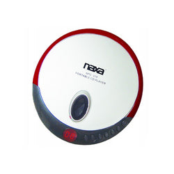 Naxa Slim Personal Compact Disc Player-Red