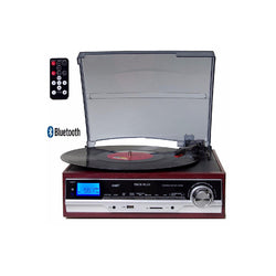 TechPlay 3-Speed Bluetooth Turntable