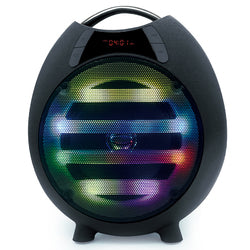 "QFX 6.5"" Bluetooth Rechargeable Party Speaker, Black"