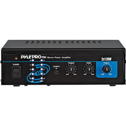 Pyle PCA4 Mini 2x120 Watt Stereo Power Amplifier