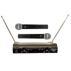 Pyle Dual VHF Wireless Microphone System