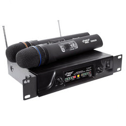 Pyle Dual UHF Wireless Microphone System