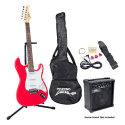 Beginner Electric Guitar Package- Red