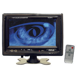 "Pyle PLHR76 7"" Widescreen LCD Mobile Video Monitor with Headrest Shroud"