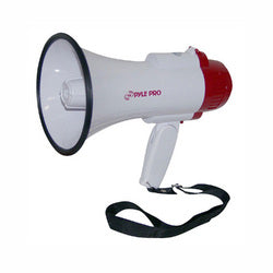 Pyle Professional Megaphone/Bullhorn with Siren & Voice Recorder