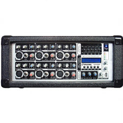 Pyle 6 Channel 600 Watts Powered Mixer with MP3