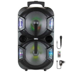Qfx 2 X 10-inch Portable Party Speaker (pack of 1 Ea)