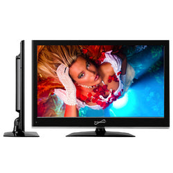 "Supersonic 22"" CLASS LED HDTV WITH USB AND HDMI INPUTS"