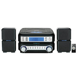 Supersonic Portable Micro System with Bluetooth® ,CD Player, AUX Input & AM/FM Radio
