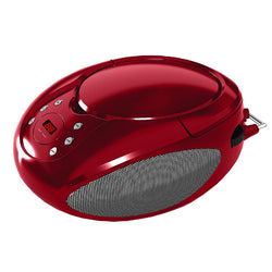 Supersonic Portable CD Player with AUX Input and AM/FM Radio-