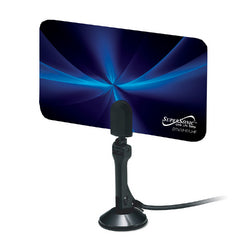 Supersonic SC-607 Flat Digital HDTV Antenna With VHF and UHF Frequency Range