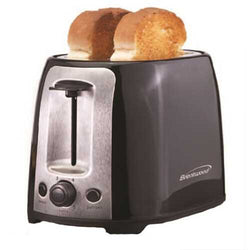 Brentwood  2 Slice Cool Touch Toaster ; Black and Stainless Steel