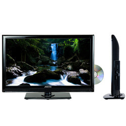 "Axess 24"" LED TV with Built in DVD Player"
