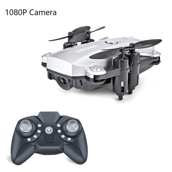 M9 Mini Drone with Camera 1080P Foldable RC 2.4G RC Quadcopter Drone Aircraft Altitude Hold One Take-off for Children