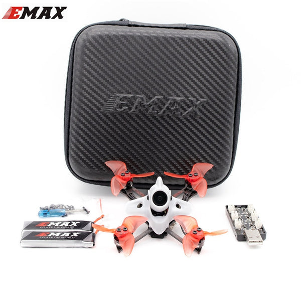 Hot EMAX Tinyhawk II RACE 90mm 2S FPV Racing RC Drone Quadcopter Multirotor F4 5A 7500KV RunCam 2 700TVL 37CH 25/100/200mW VTX