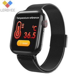 W58pro Sport Smart Watch Body Temperature Waterproof Fitness Tracker Call Reminder Bluetooth Smartwatch Men Women Color Screen