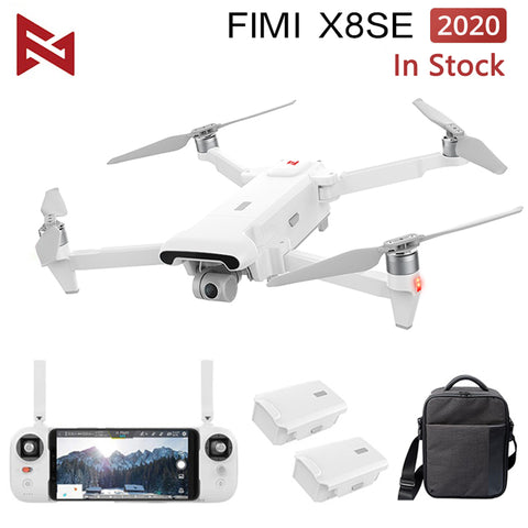 In Stock FIMI X8 SE 2020 Drone 8KM FPV With 3-axis Gimbal 4K Camera HDR Video GPS RC Drone Quadcopter RTF