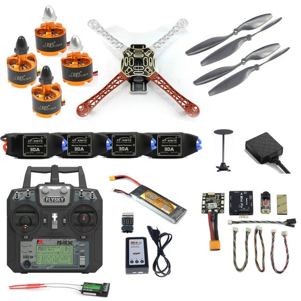 Pro DIY F450 F550 Drone Full Kit 2.4G 10CH RC Hexacopter Quadcopter Radiolink Mini PIX M8N GPS PIXHAWK Altitude Hold FPV Upgrade