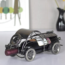 Elegant And Delicate Retro classic car metal wine rack