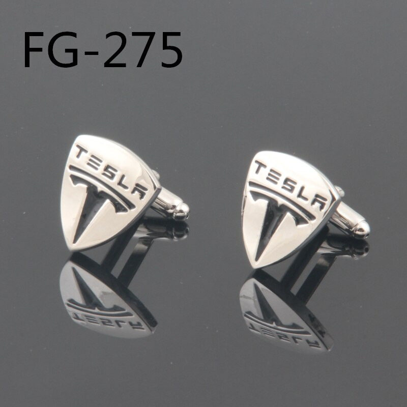 Men's accessories Fashion cuff-links TESLA