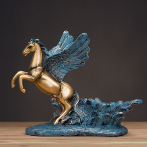 Pegasus Statue Wine Bottle Holder