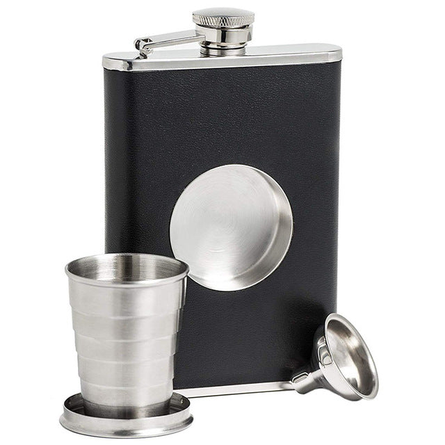 Shot & Hip Flask Set (8 oz)