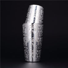 550ml/850ml Engraving Stainless Steel Cocktail Boston Bar Shaker