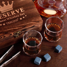 12pcs/Set Whiskey Stones Set Quick-freezing Ice Block Bar Cooler Whiskey Marble Ice Block
