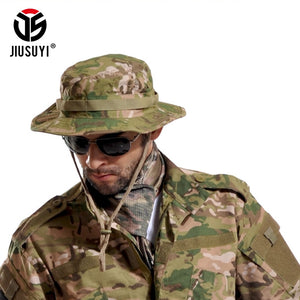Tactical Airsoft Sniper Camouflage Bucket Boonie Hats