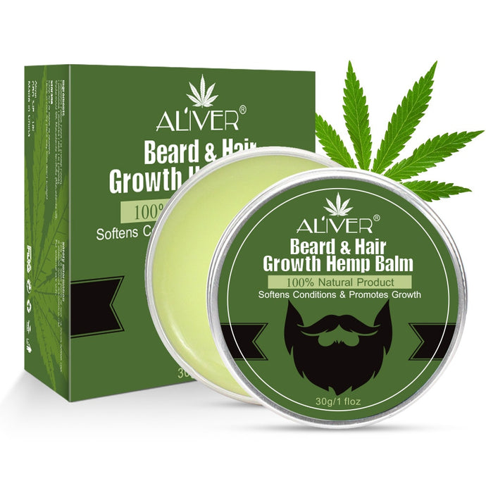 1pc Natural Hemp Growth Oil / Beard Balm
