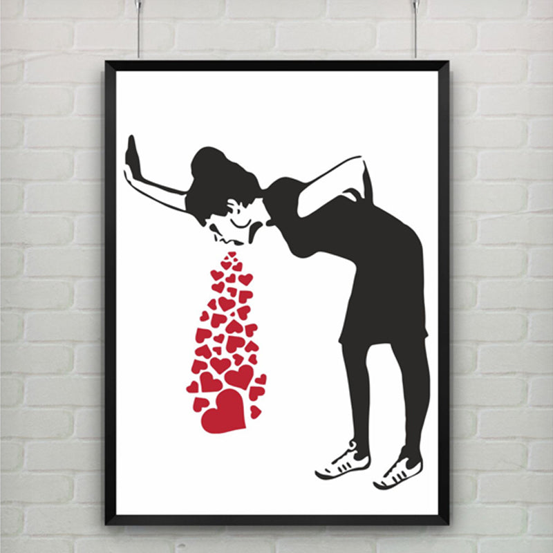 Love Sick by Banksy Wall Art Canvas