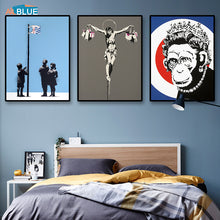 Banksy Posters And Prints Wall Art Canvas Painting
